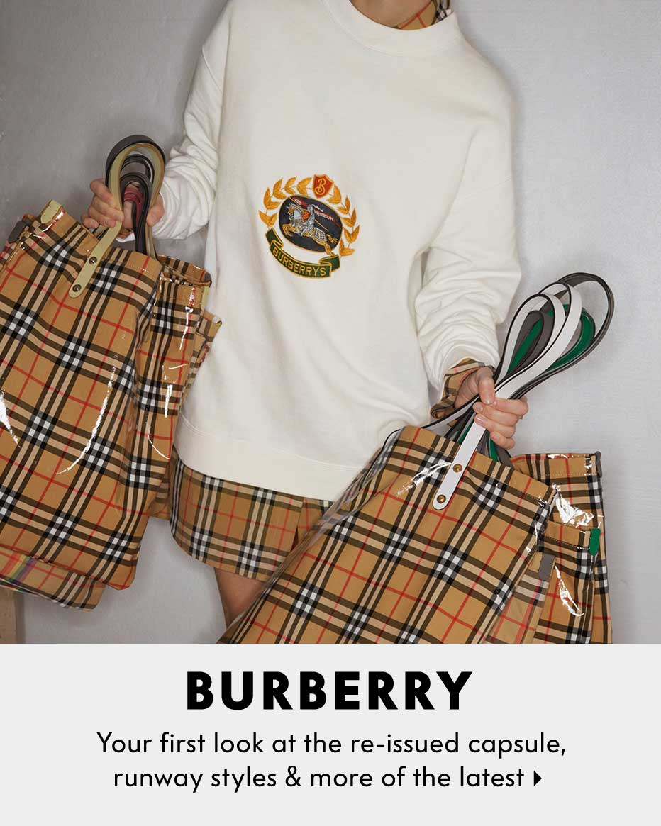 Burberry - Your first look at the re-issued capsule, runway styles & more of the latest