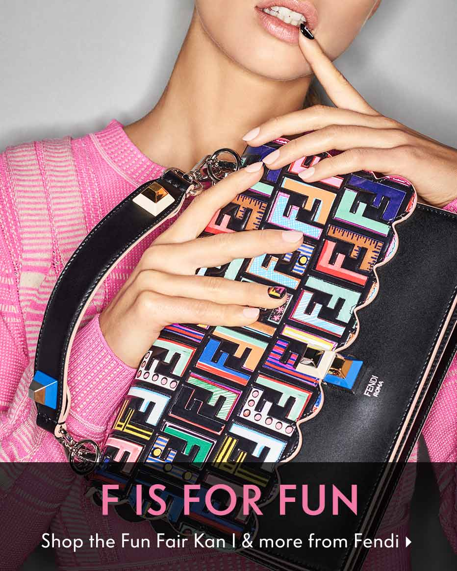 F Is For Fun - Shop the Fun Fair Kan I & more from Fendi