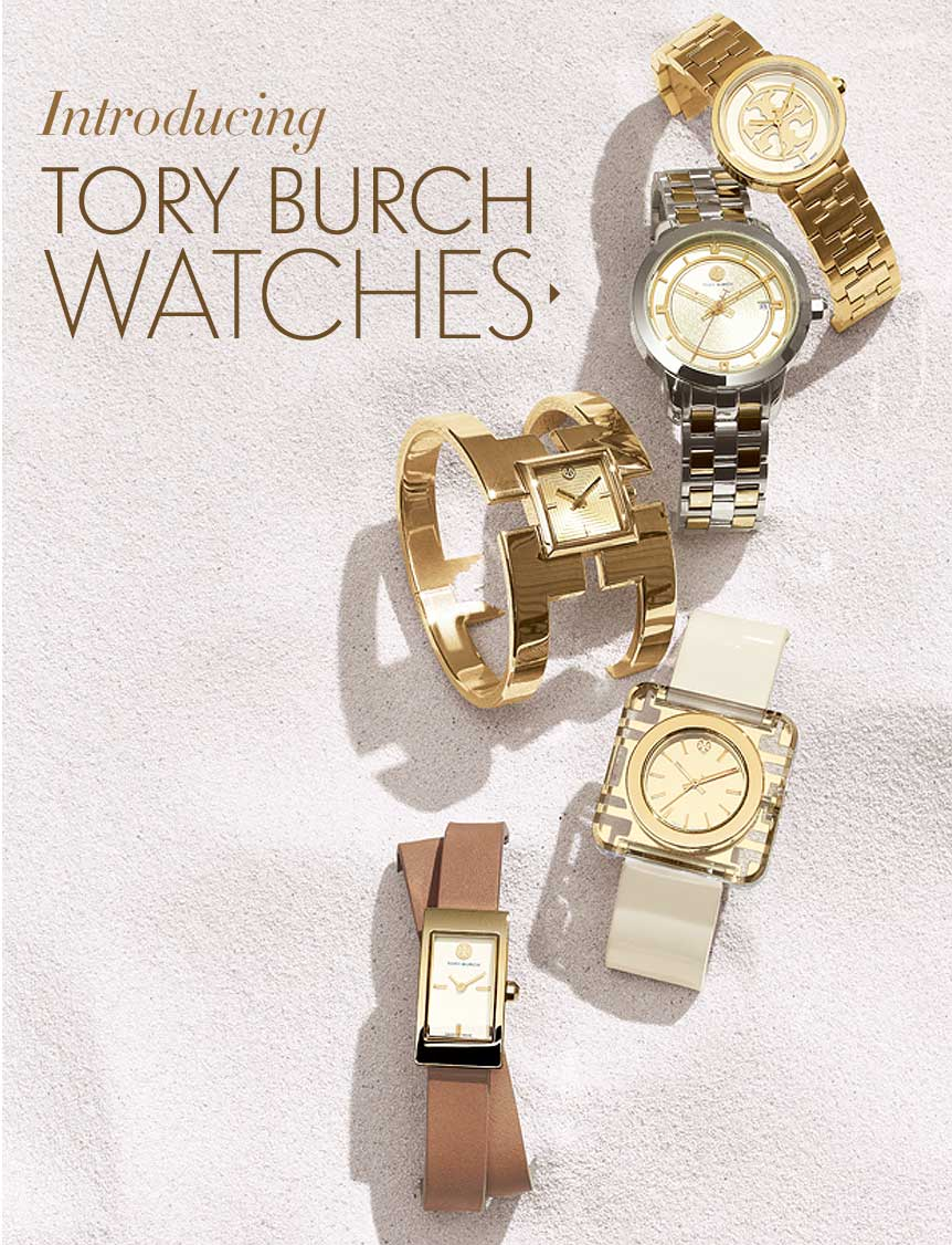 Tory Burch Watches Launch
