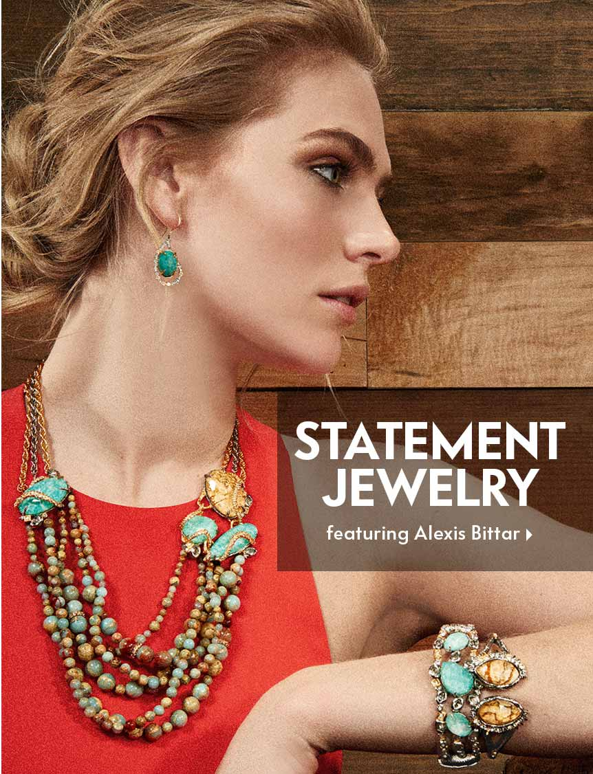 Statement Necklaces Featuring Alexis Bittar