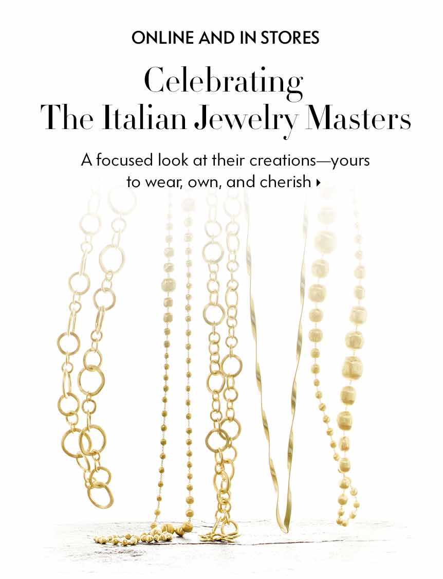 Celebrating the Italian Jewelry Masters