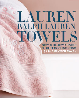 Lauren Ralph Lauren Towel Event