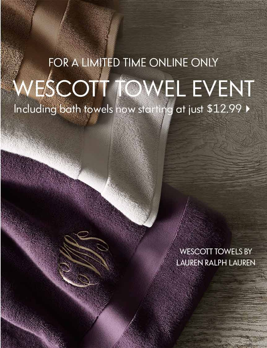 Wescott Towel Event