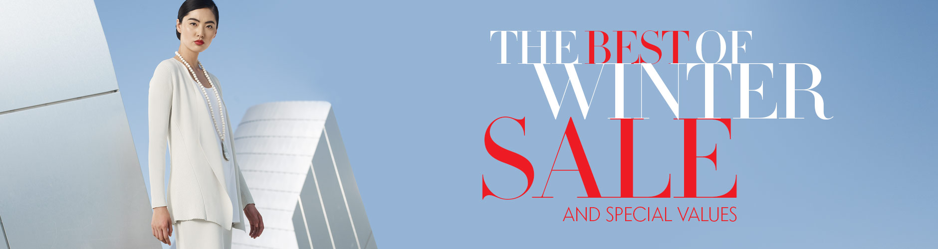 The Best of Winter Sale and Special Values