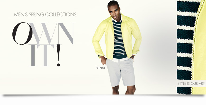 OWN IT! Men's Spring Collections