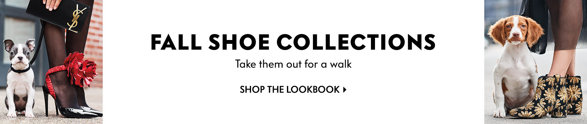 Fall Shoe Collections: Take them out for a walk