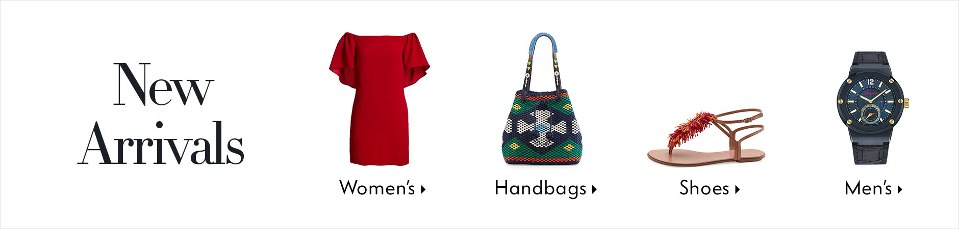 New Arrivals - Women's, Handbags, Shoes, Men's