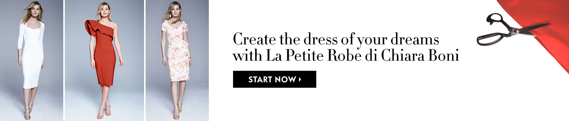 Create the dress of your dreams with La Petite Robe di Chiara Boni - Start now