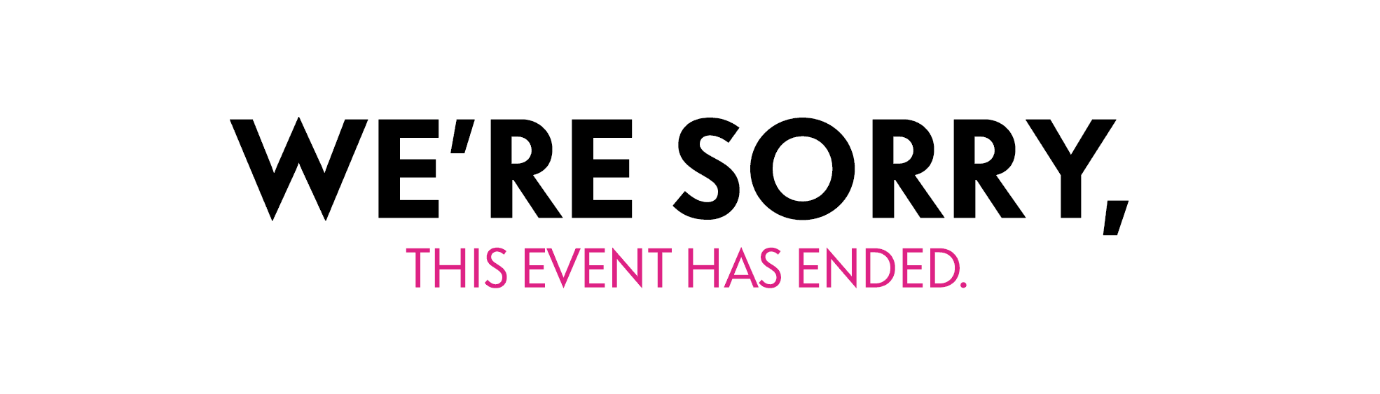 Gift Card Event has Ended