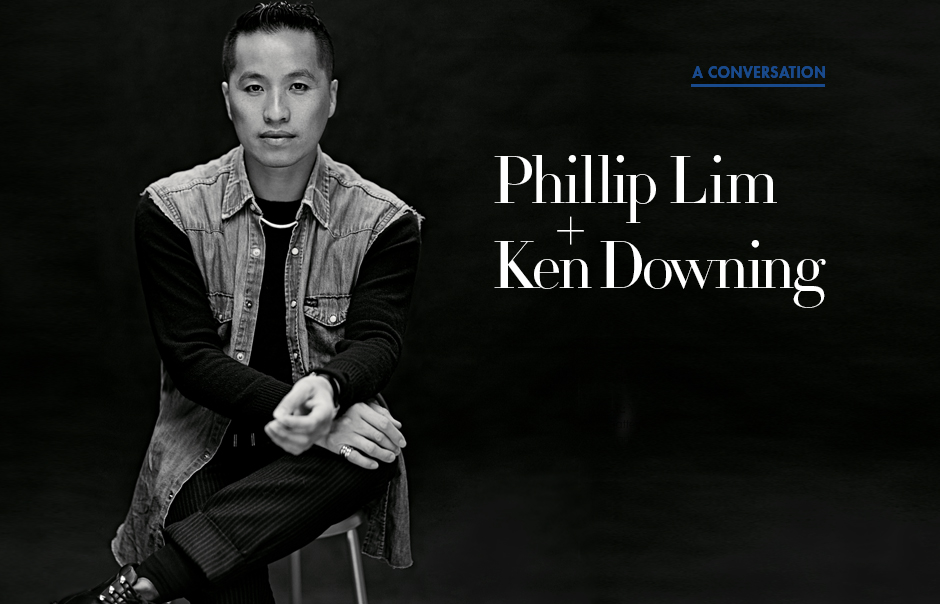 Phillip Lim and Ken Downing