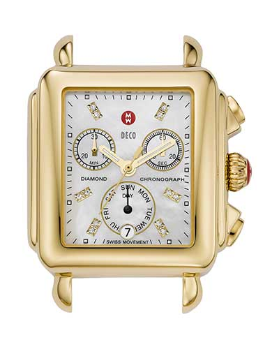 Diamond Dial Head, Gold