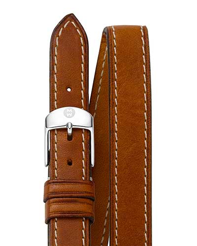 Leather Strap, Saddle Double Wrap