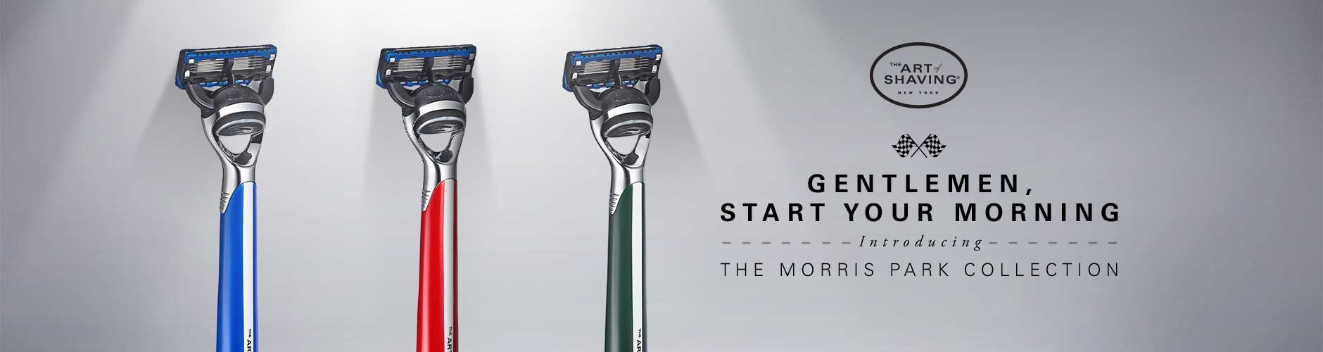 Gentlemen, Start Your Monring - Introducing The Morris Park Collection
