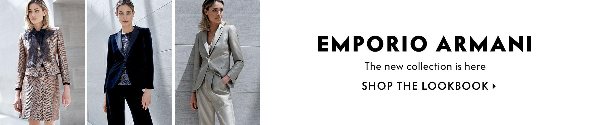 Emporio Armani Women\'s Clothing at Neiman Marcus