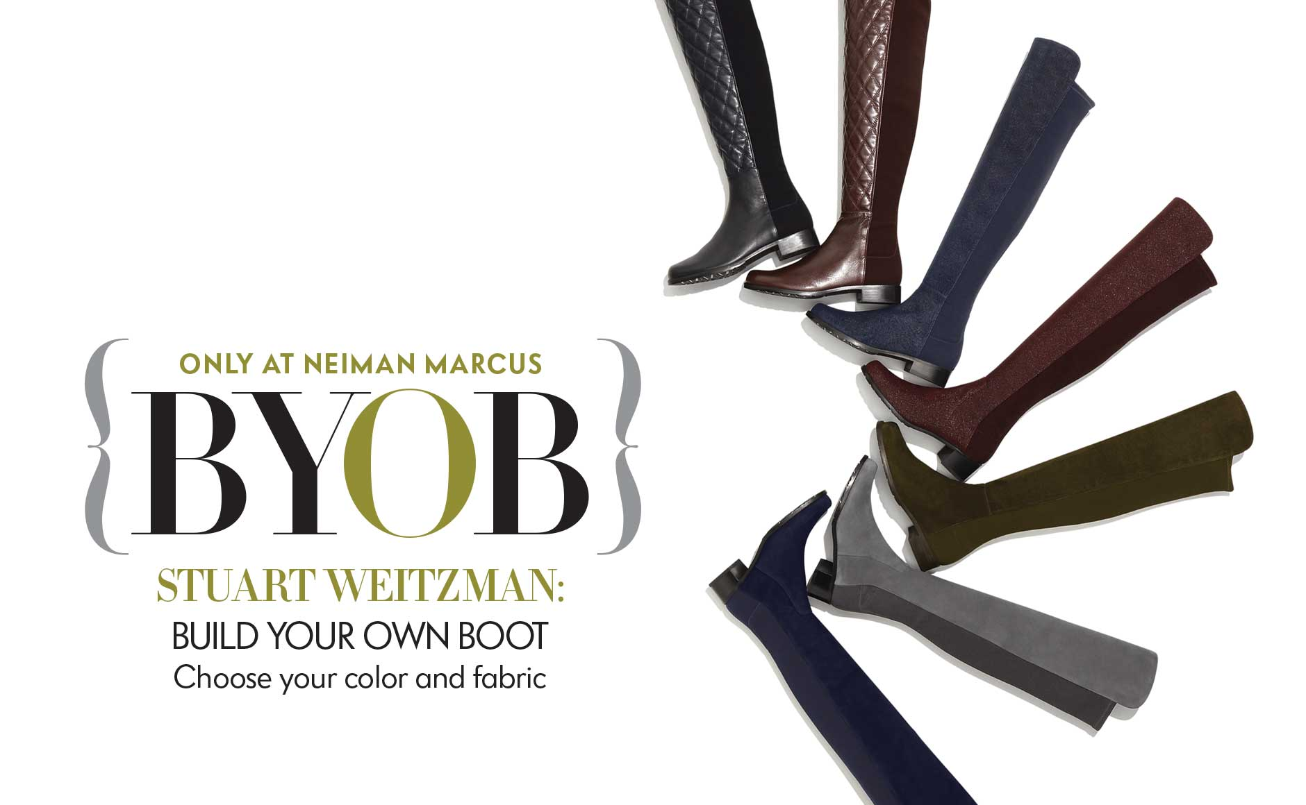 Stuart Weitzman: Build Your Own Boot