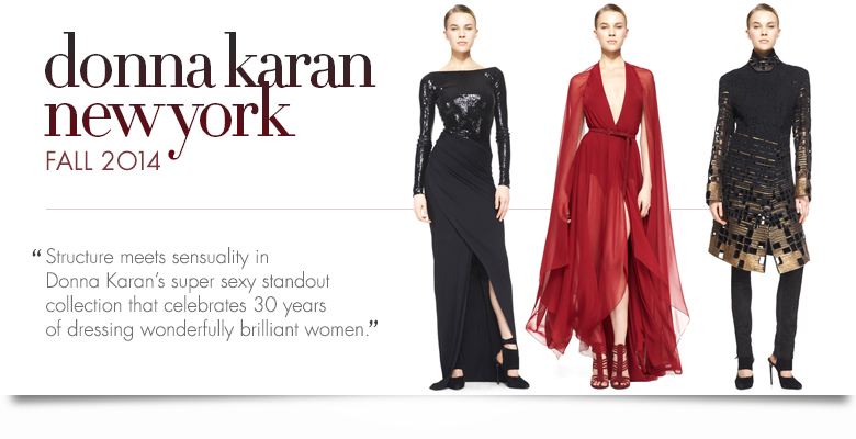 Donna Karan Fall Preview