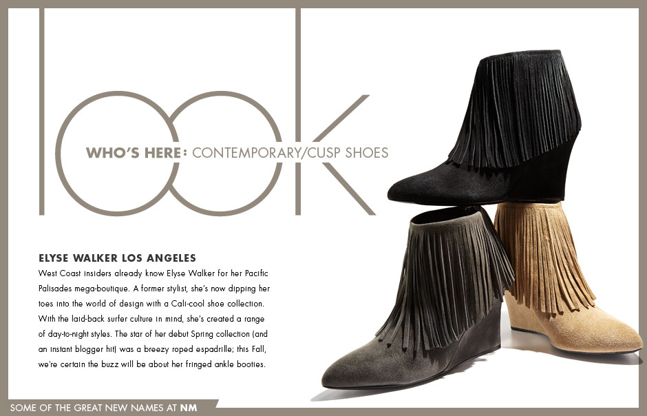 Look Who's Here: Contemporary/CUSP Shoes