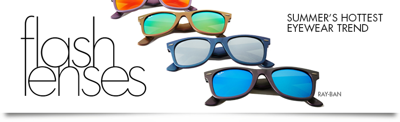 Flash Lenses by Ray Ban for Summer