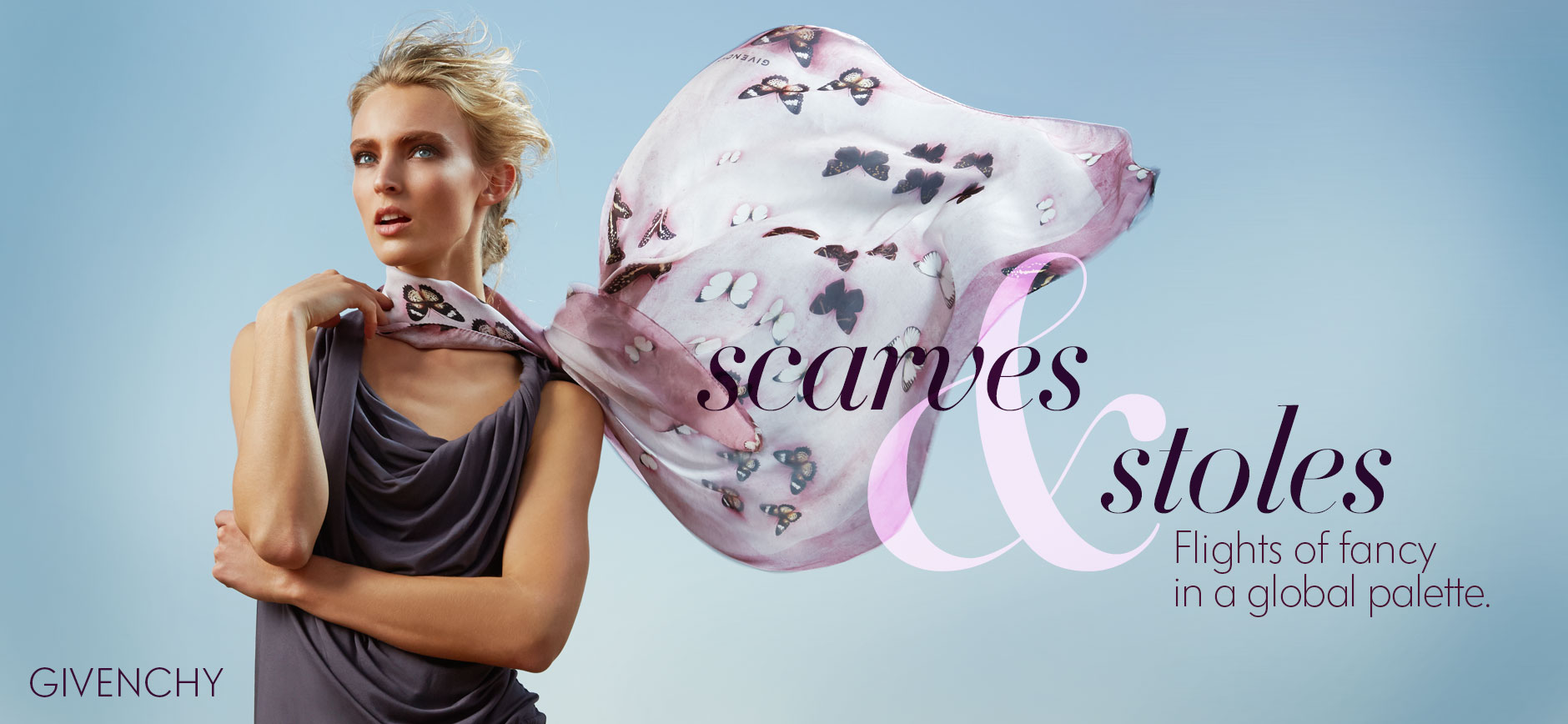 Scarves and Stoles Lookbook