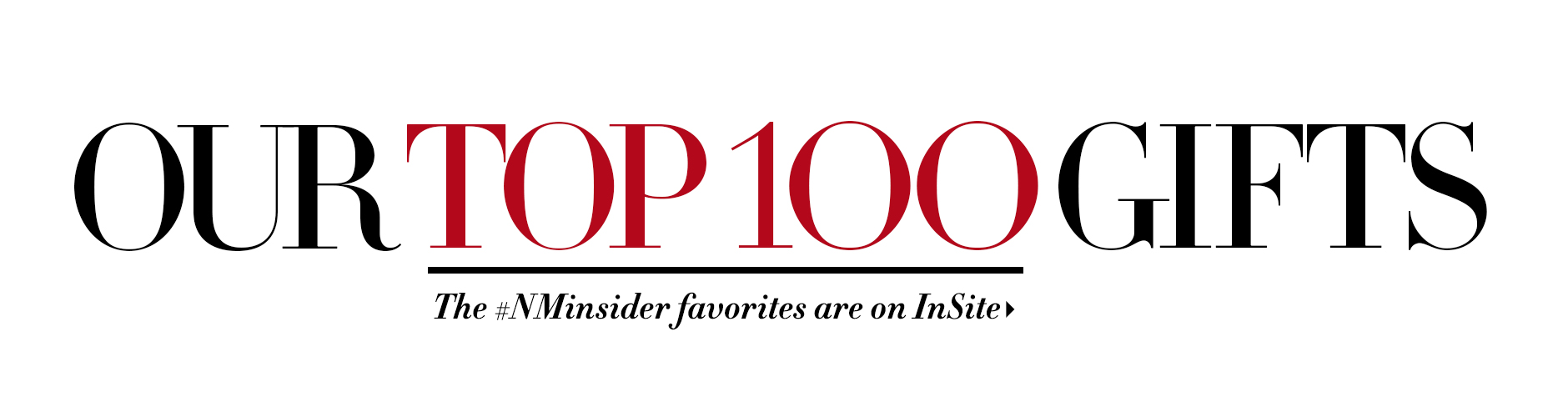 Our Top 100 Gifts