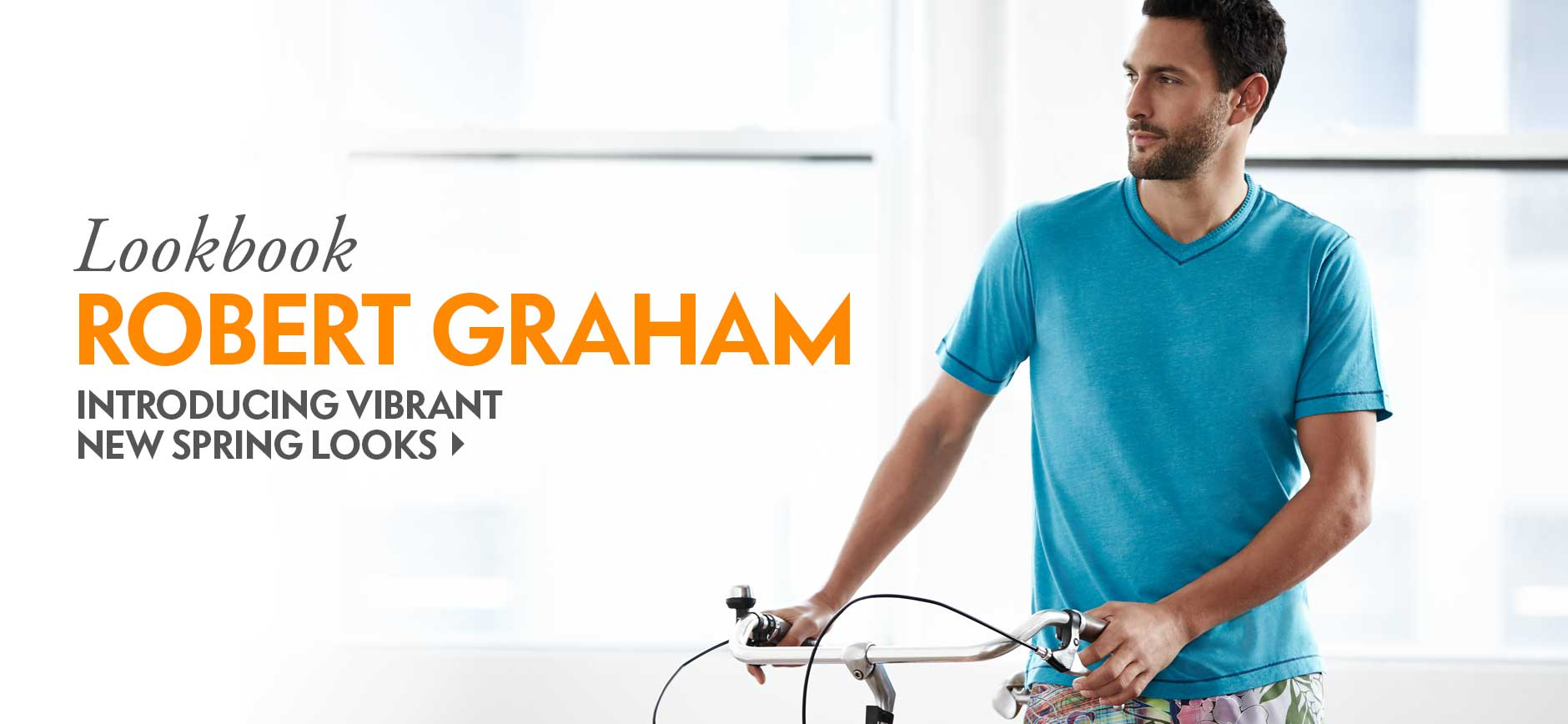Robert Graham Spring Lookbook