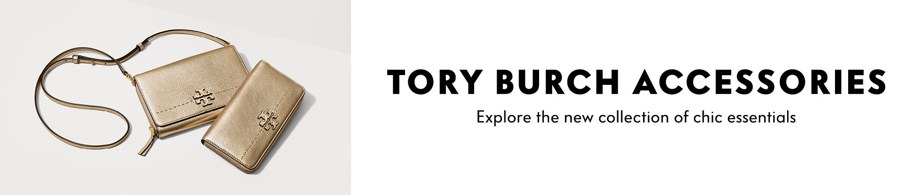 Tory Burch Accessories - explore the new collection of chic essentials