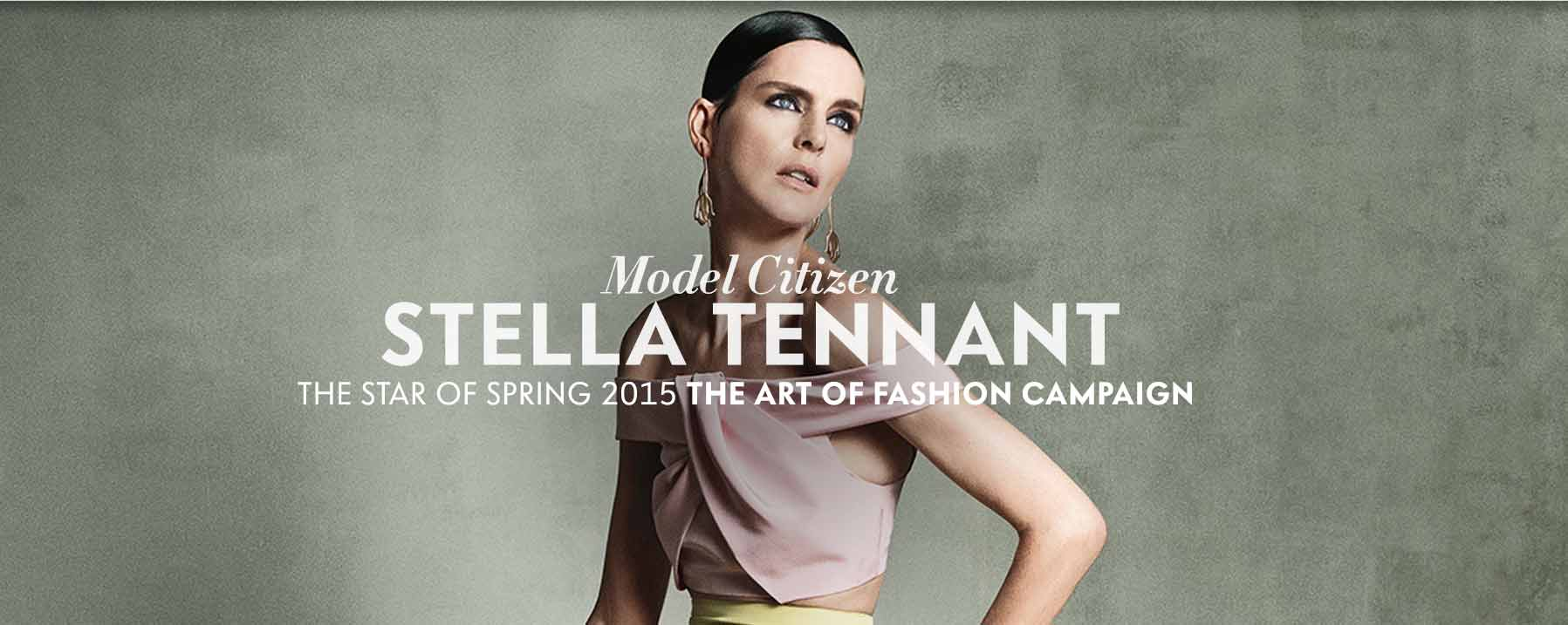Model Citizen: Stella Tennant