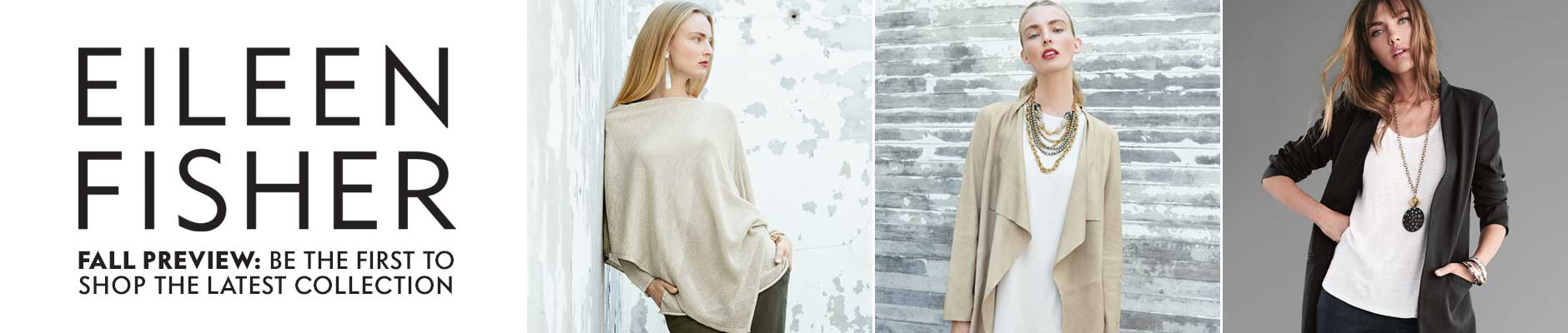 Eileen Fisher Preview
