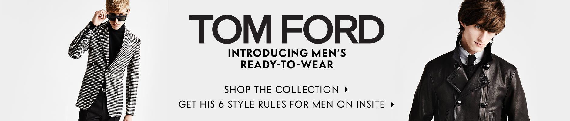 InSite: Men's Tom Ford