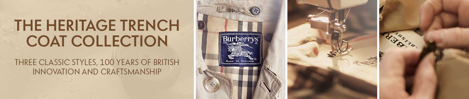 Burberry Heritage Trench Coat Collection