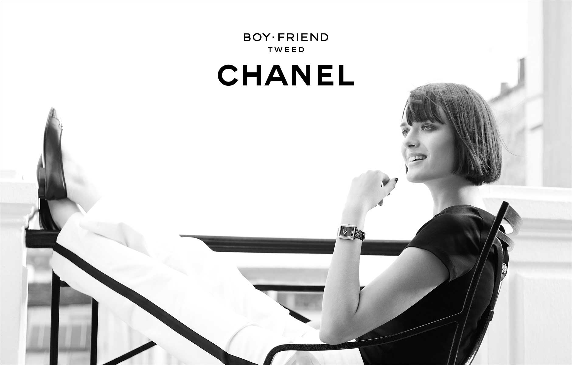Chanel: Boy-Friend - Tweed