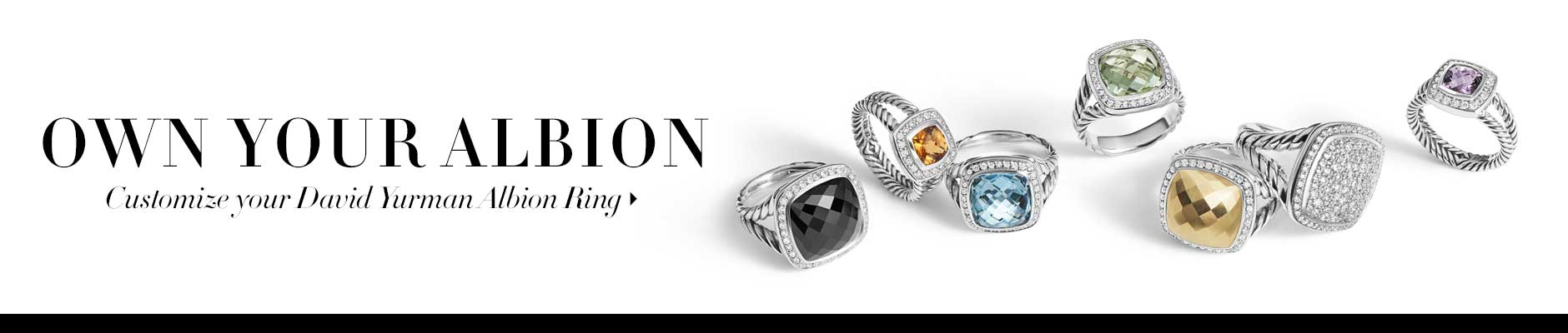 David Yurman Albion Ring Configurator
