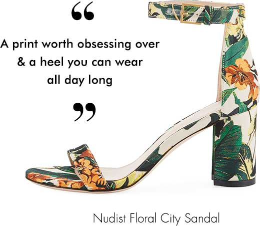 Nudist Floral City Sandal