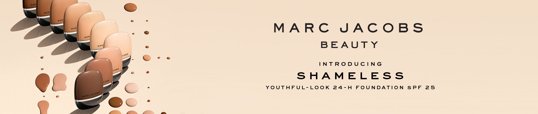 Marc Jacobs Beauty - Introducing Shameless Foundation SPF 25