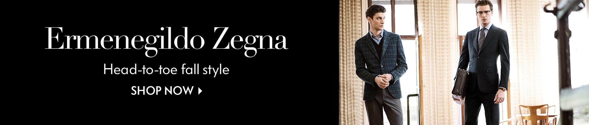 Ermenegildo Zegna: Head-to-toe fall style - Shop Now