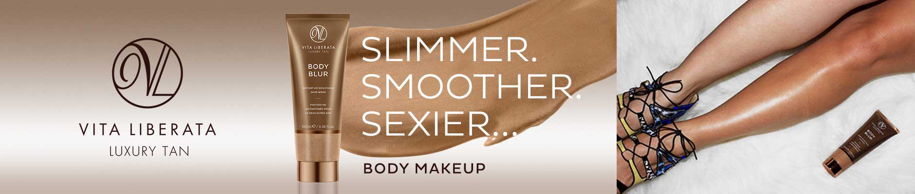 Vita Liberata: Luxury Tan - Slimmer. Smoother. Sexier... Body Makeup