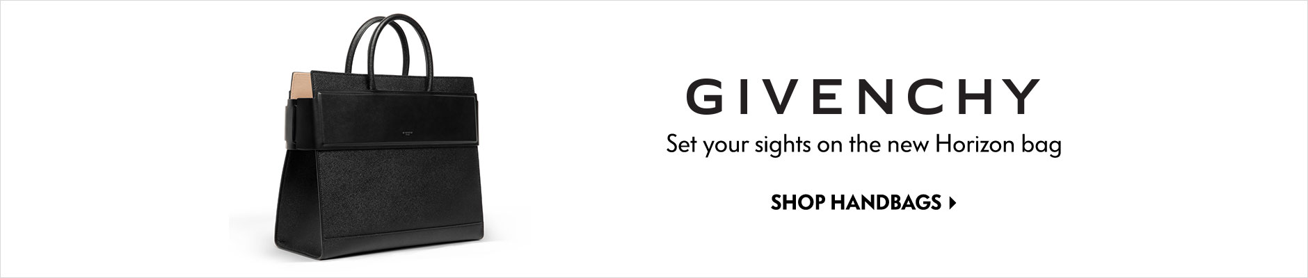 Givenchy - Set your sights on the new horizon bag