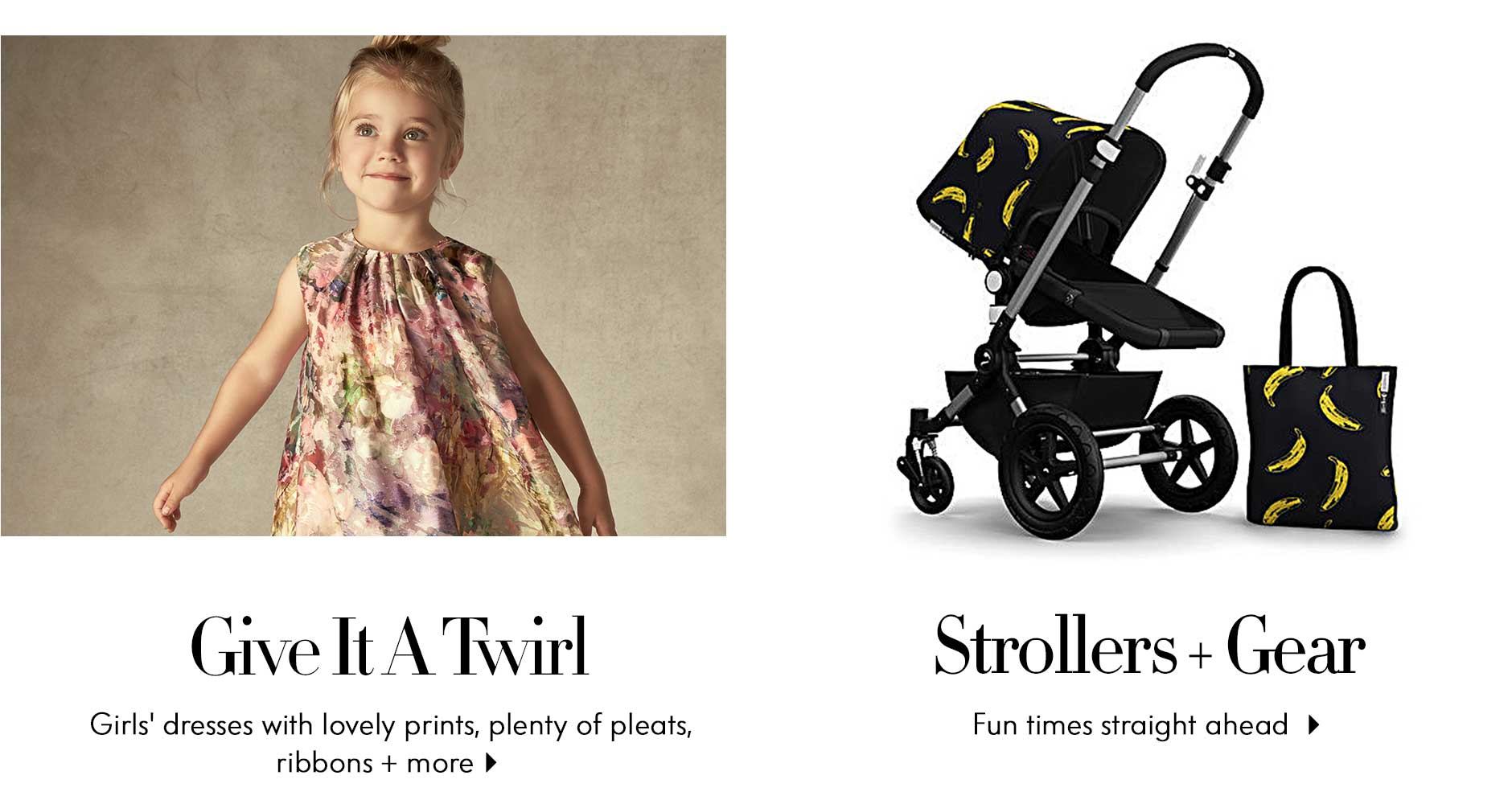 Give It A Twirl & Strollers + Gear