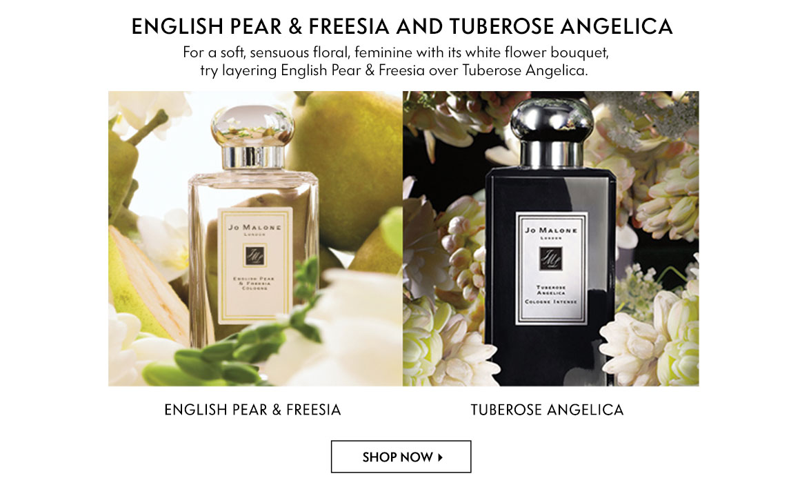 Jo Malone - English Pear & Freesia and Tuberose Angelica