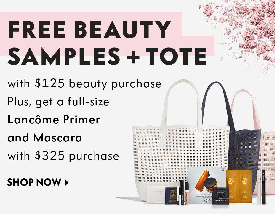 Free Beauty Samples + Tote