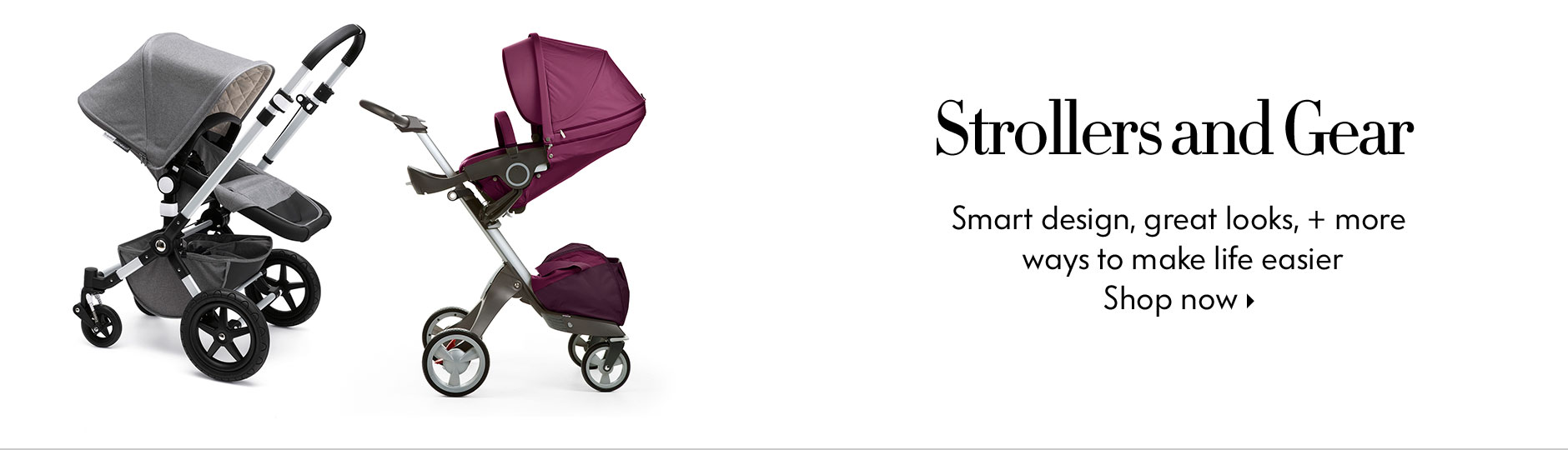 NM Kids: Smart design, great looks, + more ways to make life easier - Shop Strollers and Gear