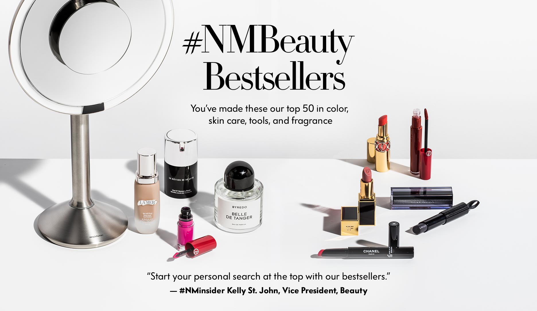 #NMBeauty Best Sellers - You've made these our top 50 in color, skin care, tools, and fragrance