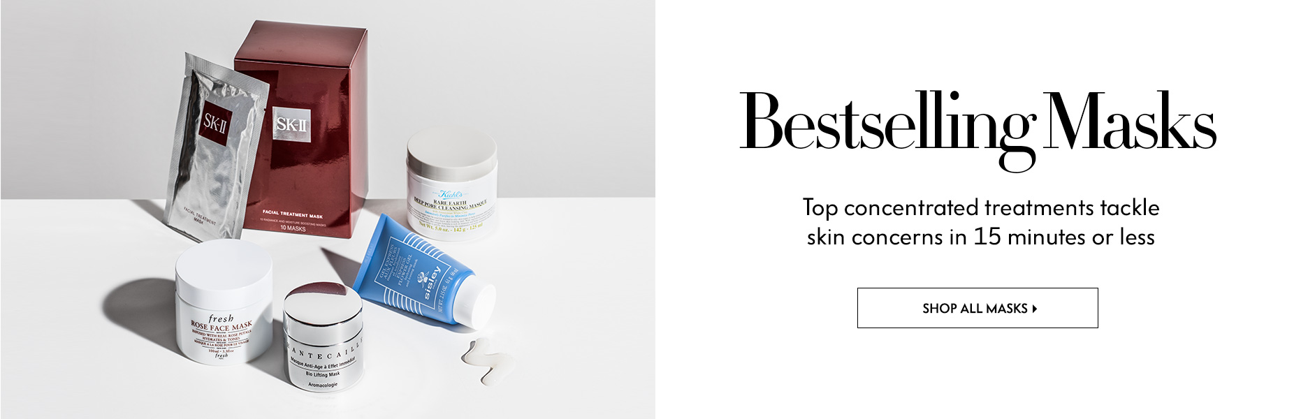 Masks - Top concentrated treatments tackle skin concerns in 15 minutes or less