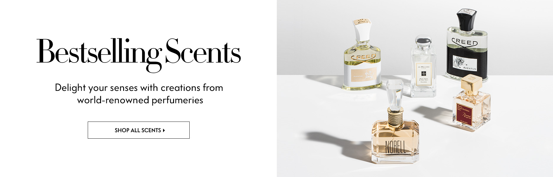 Scents - Delight your senses with creations from world-renowned perfumeries