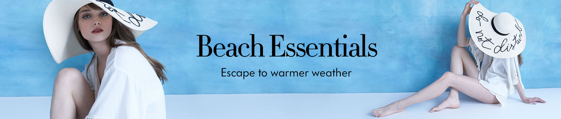 Beach Essentials - Escape to warmer weather