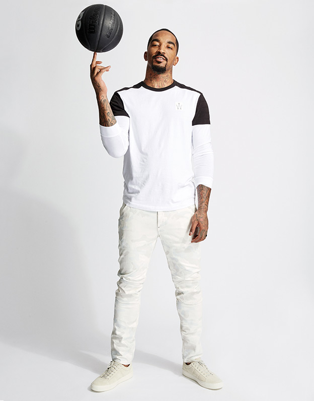 JR Smith in G-STAR