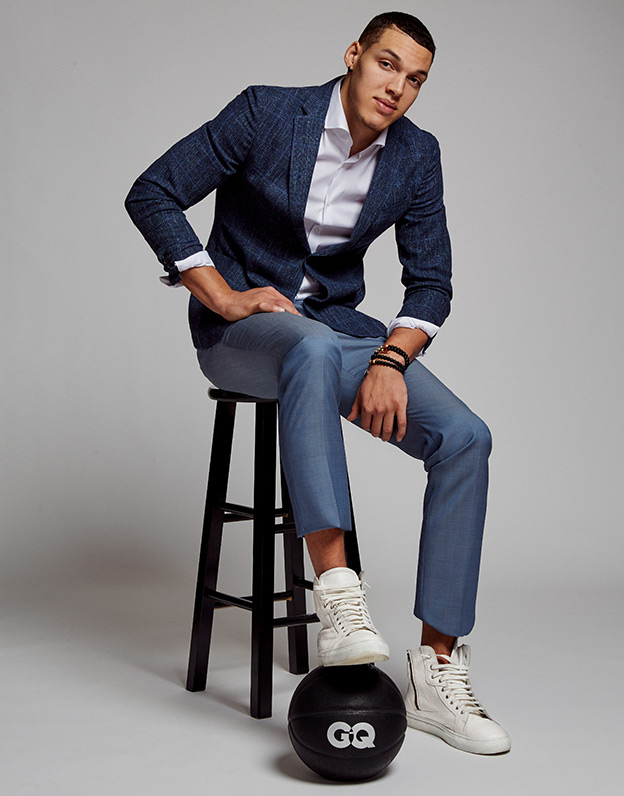 Aaron Gordon in Boss Hugo Boss