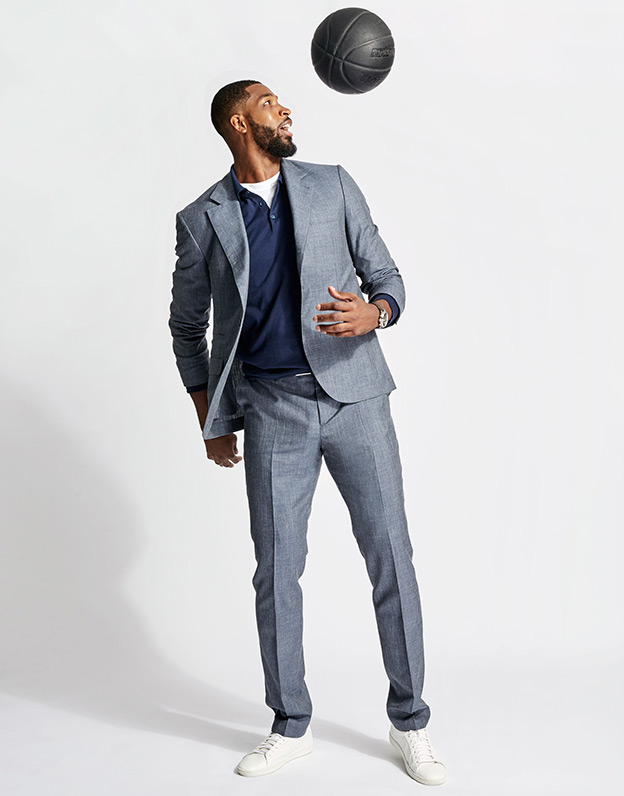 Tristan Thompson in Brunello Cucinelli