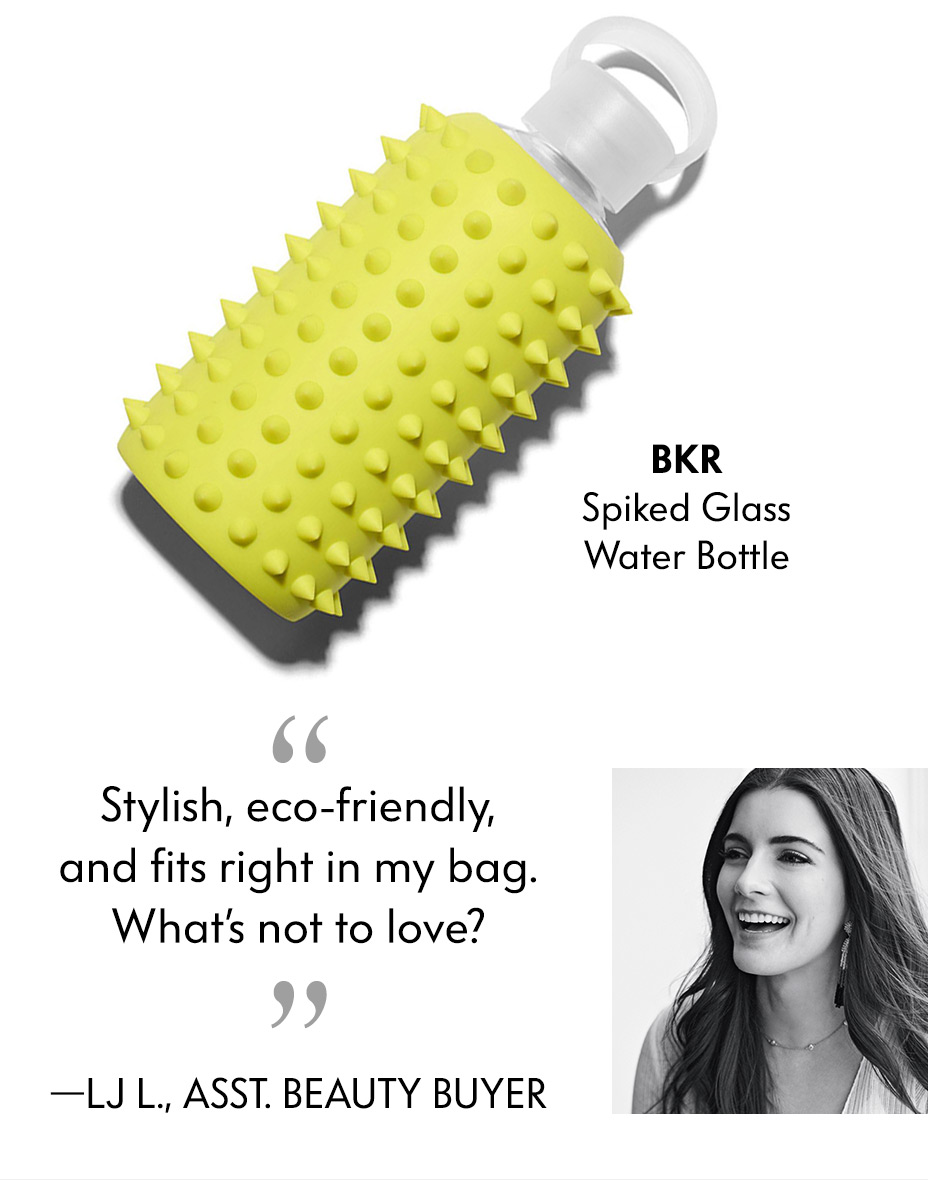 bkr Glass Water Bottle - Stylish, eco-friendly, and fits right in my bag. What's not to love?