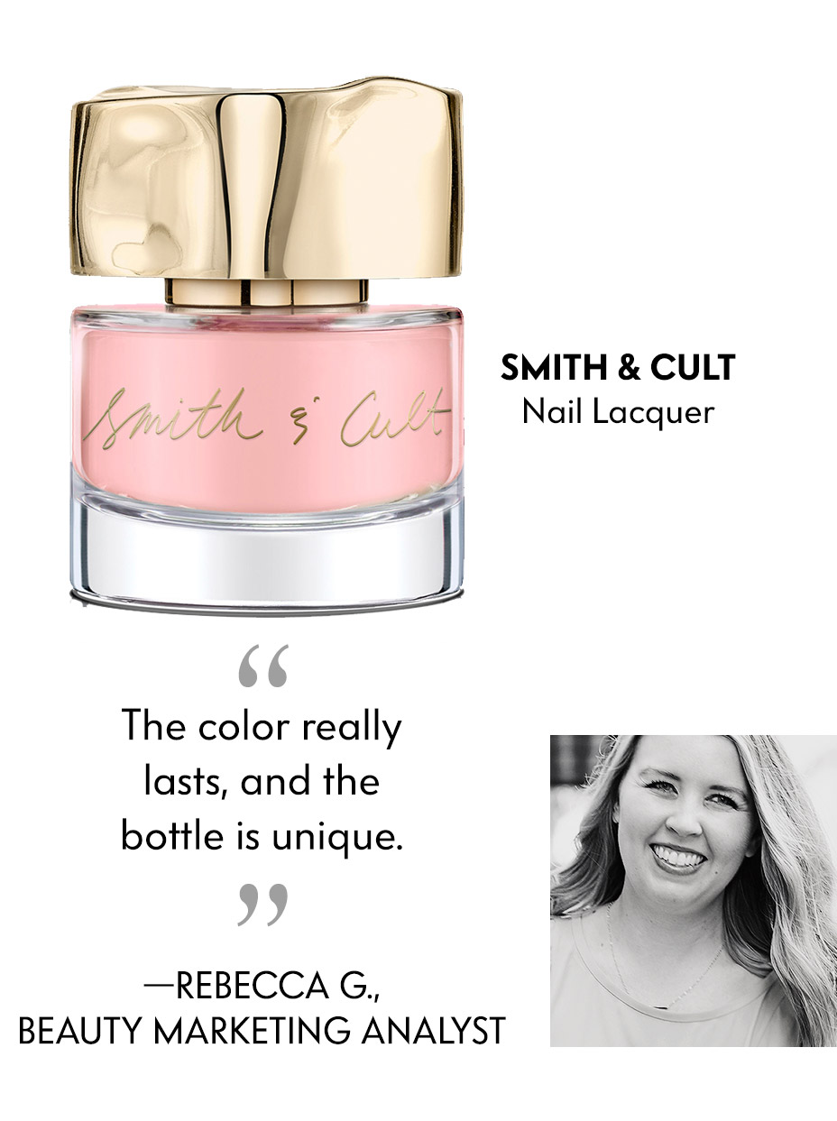 Smith & Cult Nail Polish - The color really lasts, and the bottle is unique.